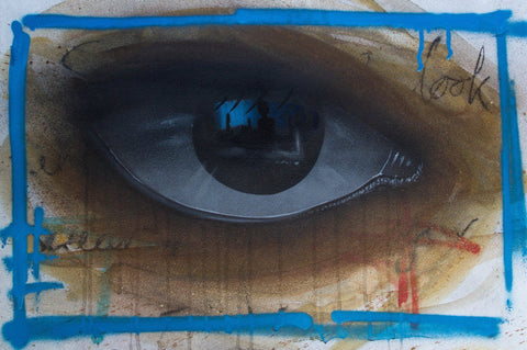 Watercolor On Paper - My Dog Sighs