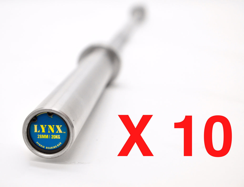 10-Pack 20kg HYBRID BEARING BAR