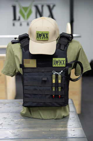 Plate Carrier Weight Vest (Includes Plates)