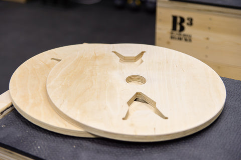 Wooden Technique Plates