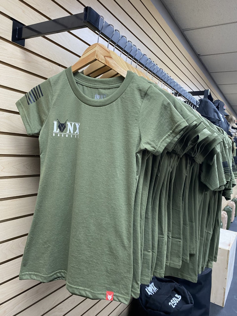Lynx Womens OD Green T-shirts