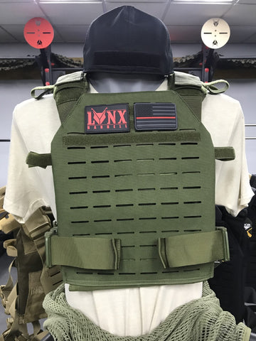 LCS Series SENTRY PLATE CARRIER W/Plates
