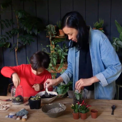 🎥 Kid's Terrarium Workshop