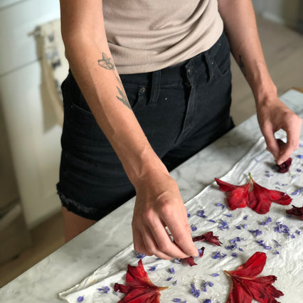 Natural Dyeing with Flowers<br>Maggie Pate Workshop Series<br>April 27 - 28