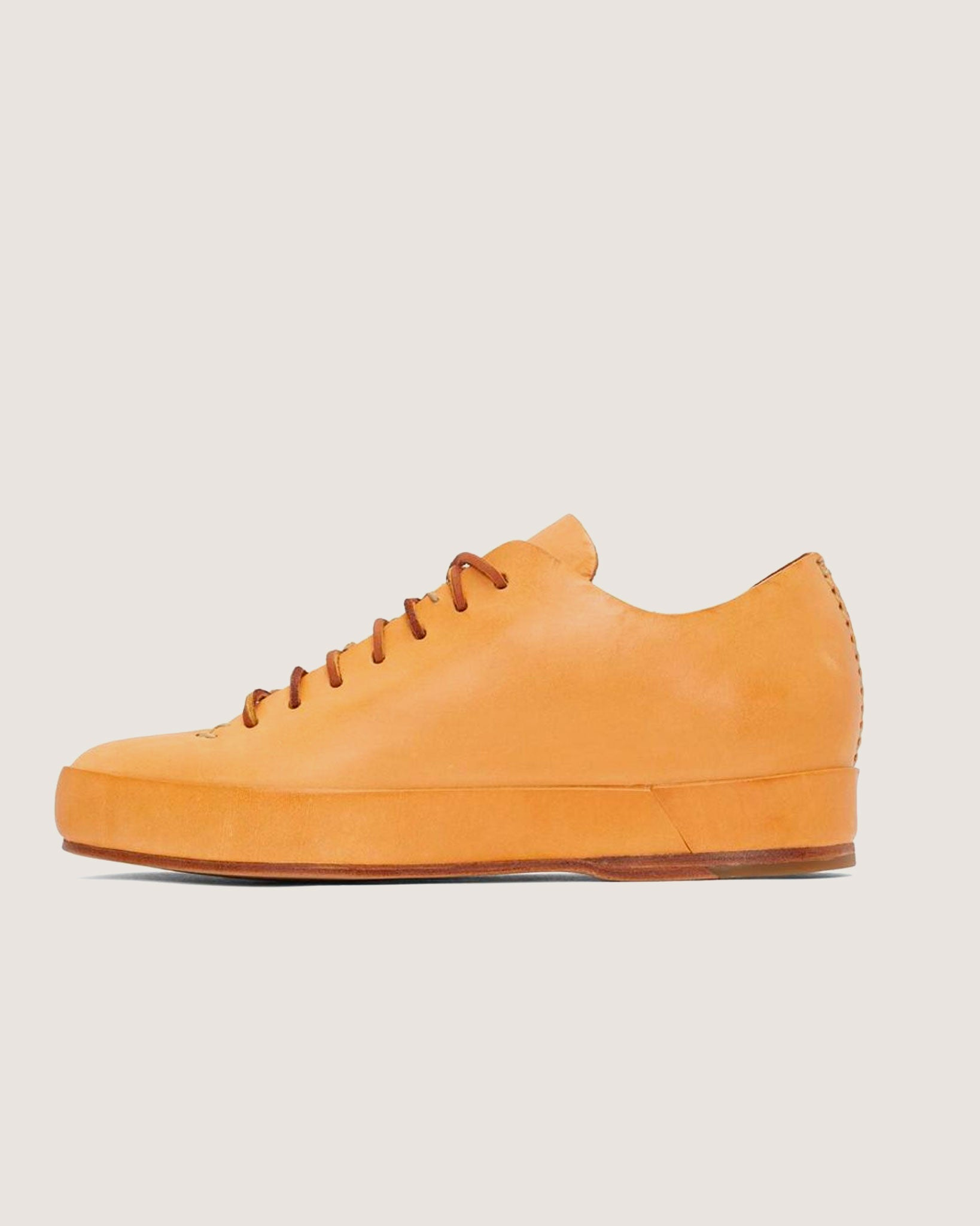 Feit Hand Sewn Low Sneaker Natural, Mens