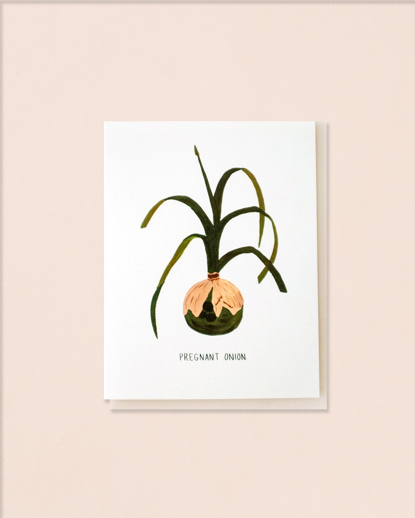 Small Adventure Greeting Cards, Plants
