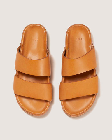 Feit Leather Sandal Natural, Unisex