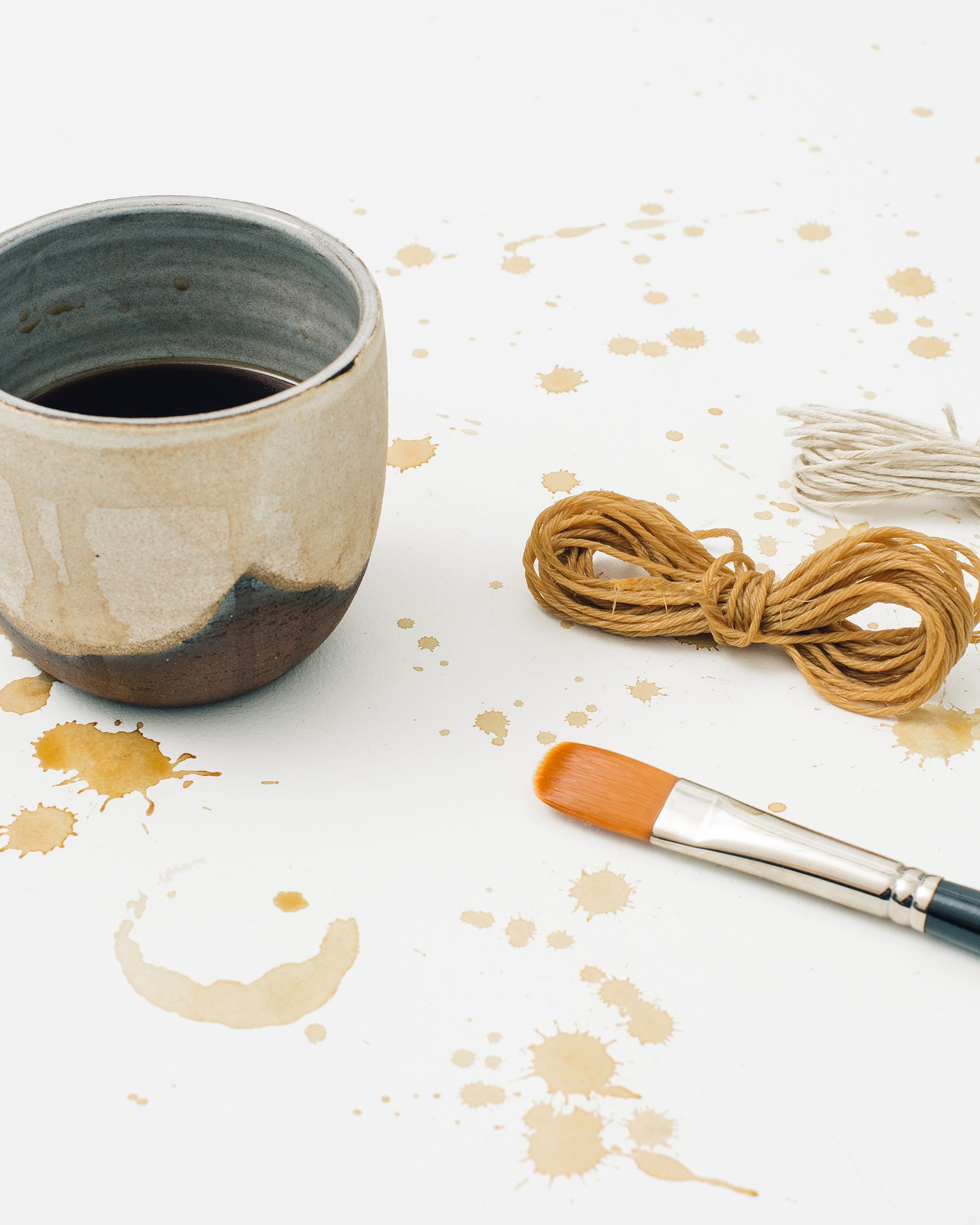 """Coffee"" Aurum Goods Natural Dyeing Workshop"