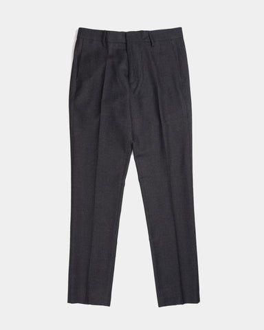Norse Projects Thomas Slim Light Wool Trouser, Charcoal
