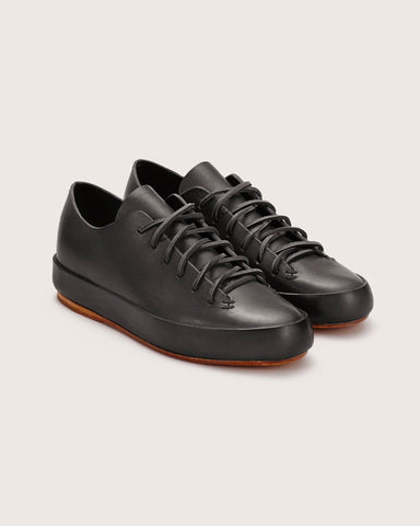 Feit Hand Sewn Low Sneaker Black, Men's