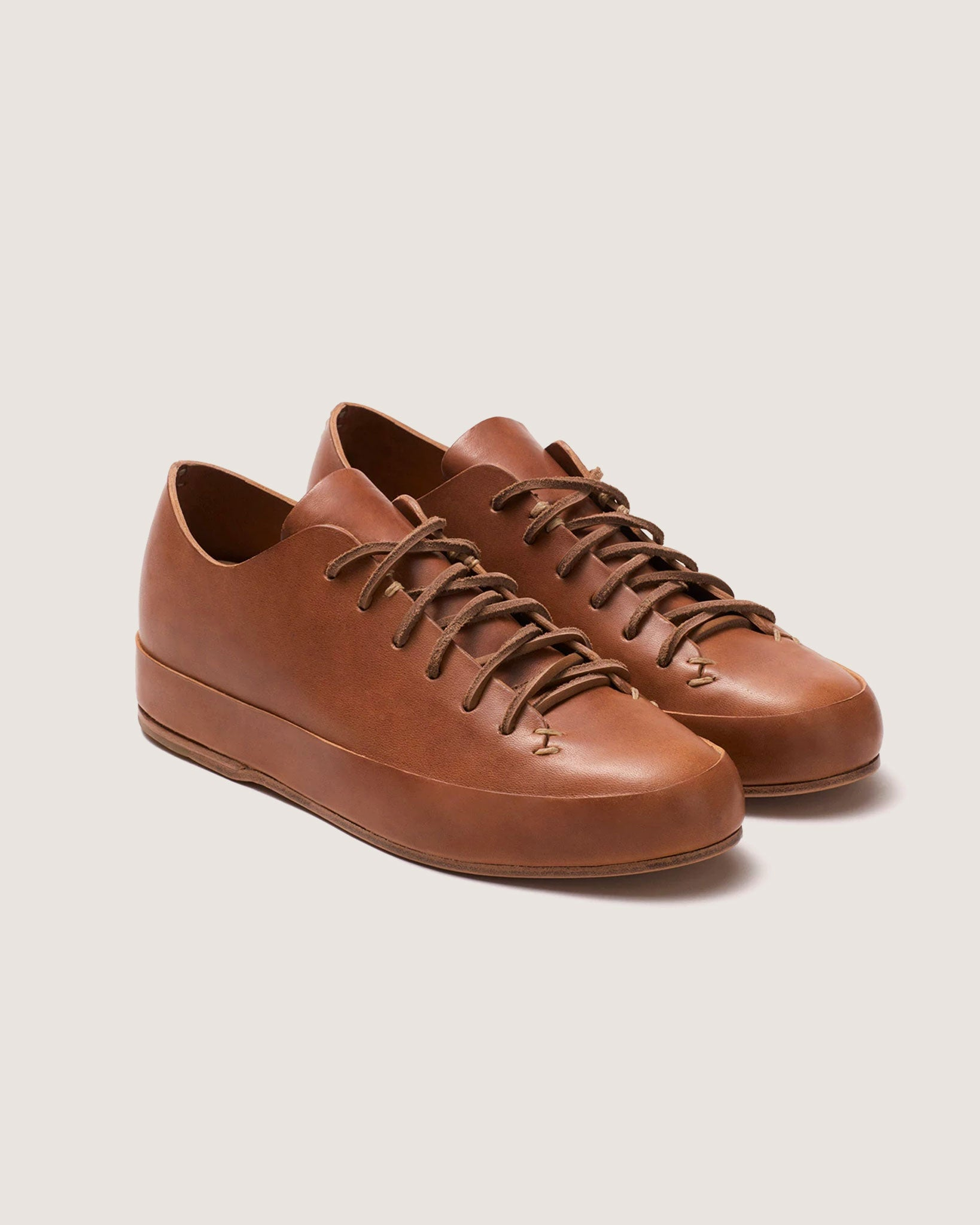 Feit Hand Sewn Low Sneaker Tan, Womans