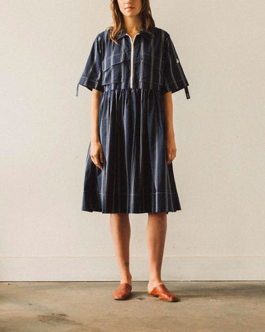 W'menswear Field Dress, Navy