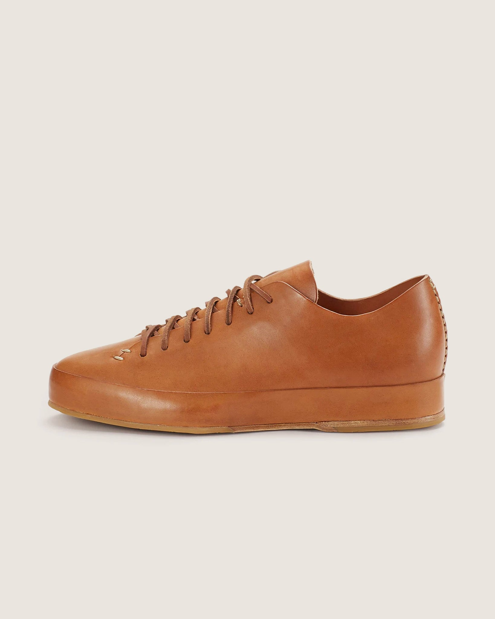 Feit Hand Sewn Low Rubber Tan, Men's