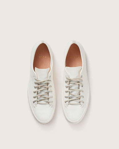 Feit Hand Sewn Low, White