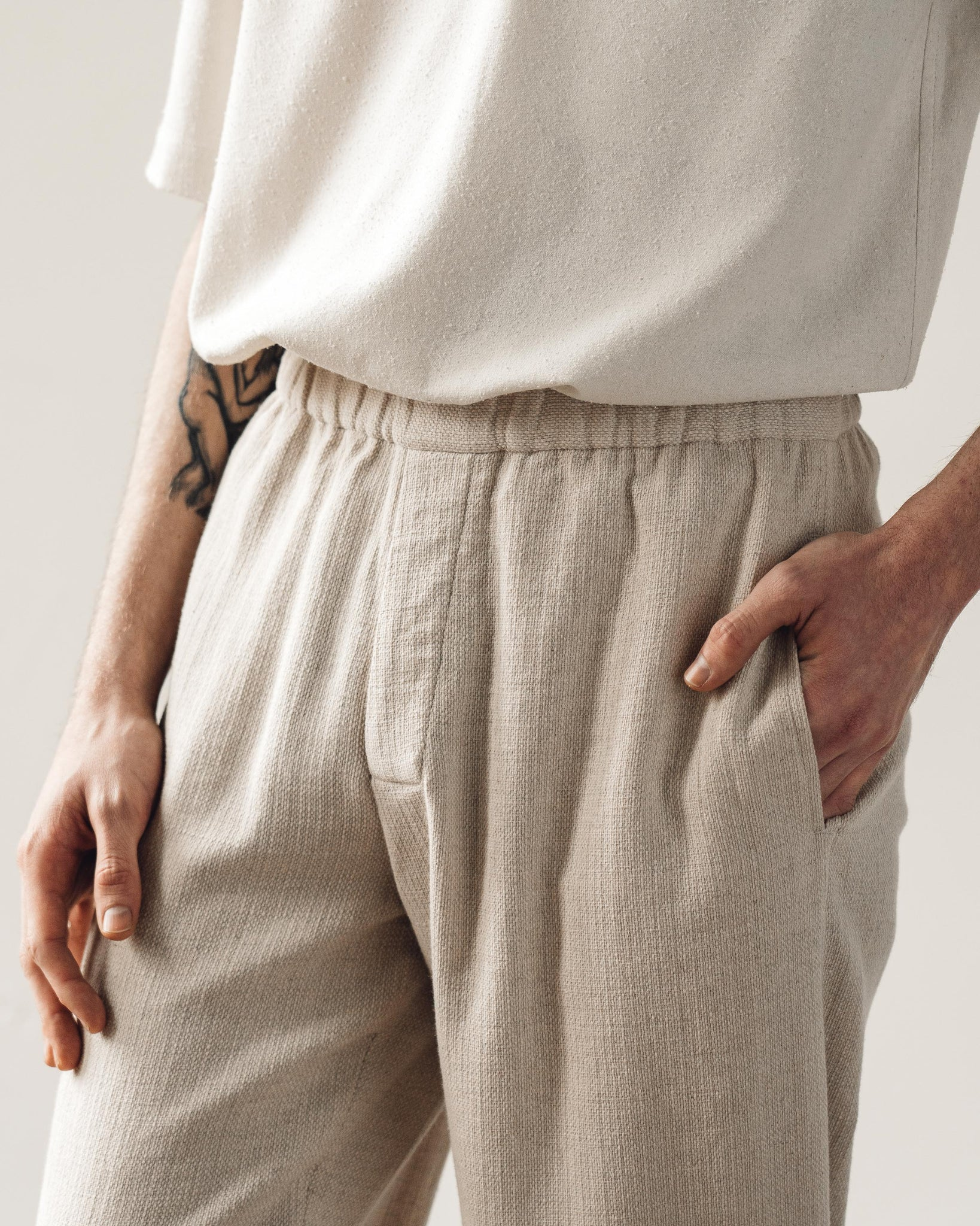 7115 Men's Elastic Long Trouser