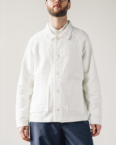 7115 Men's Chore Jacket, Off-White