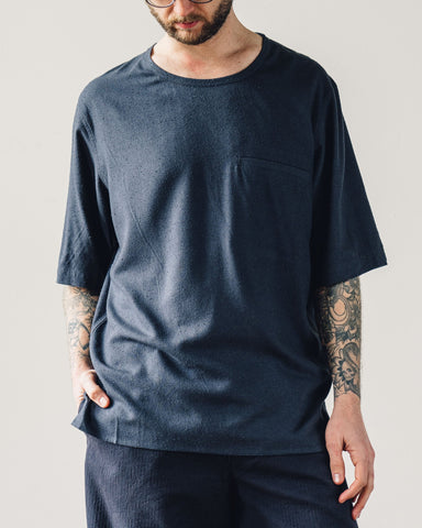 7115 Men's Pocket Tee, Navy