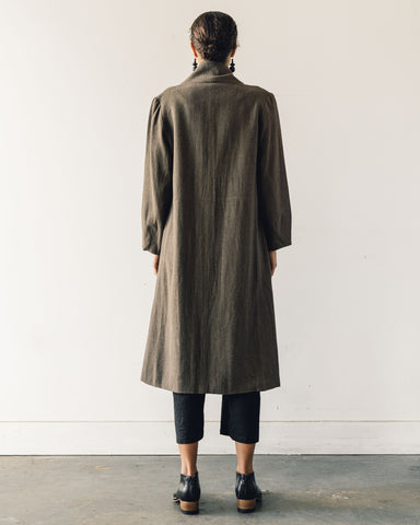 7115 Signature Open Fall Coat, Olive