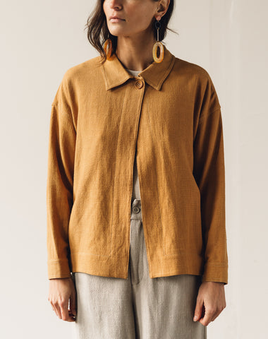 7115 Single Button Jacket, Tumeric