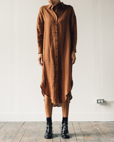 7115 Dolman Shirtdress, Rust