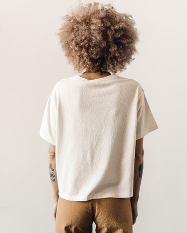 7115 Signature Textured Linen Tee, Off-White