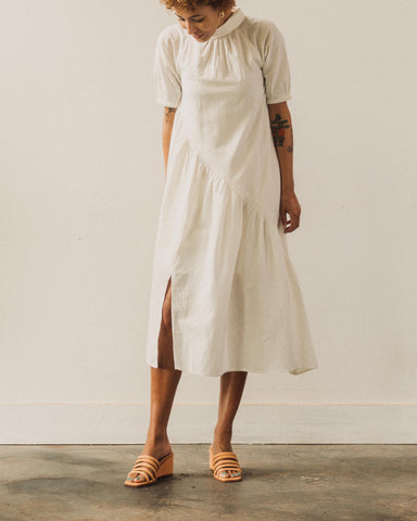 Maria Stanley Georgia Dress, Coconut