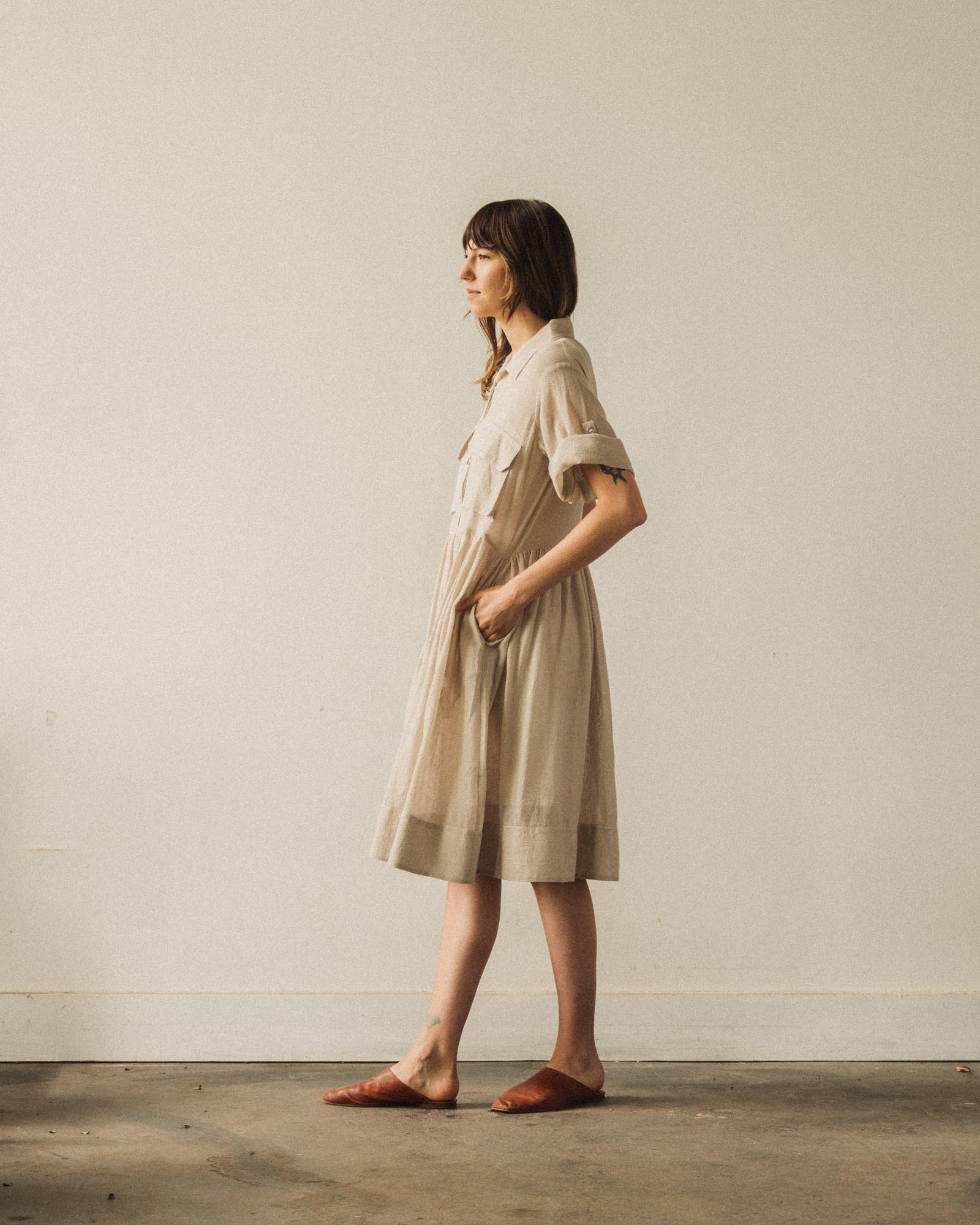 W'menswear Mosquito Dress, Natural