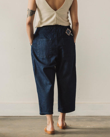 Kapital Easy Beach Go Pants, 12oz Broken Denim