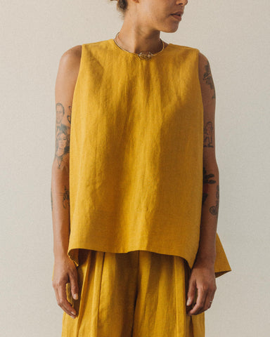 7115 Linen Tent Top, Canary