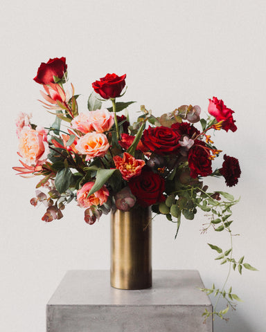 'Ruby' Floral Arrangement