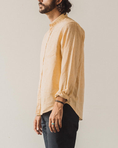 Norse Projects Osvald BD Cotton Linen, Sunwashed Yellow