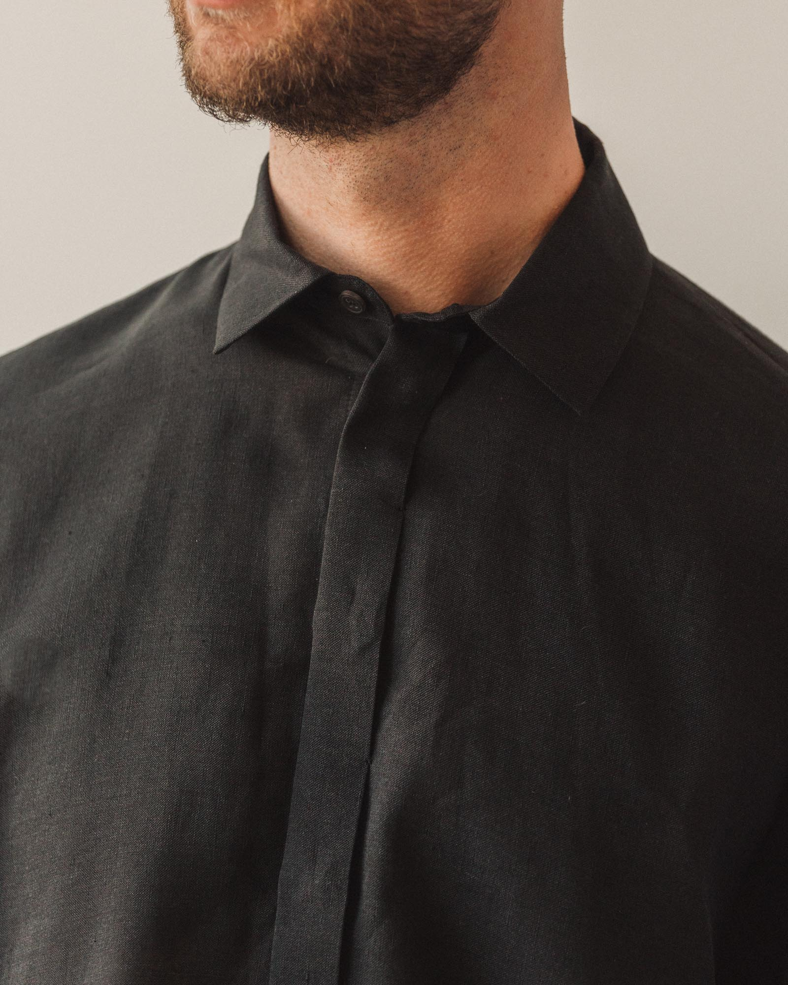 Jan-Jan Van Essche Shirt #76, Black Mesh
