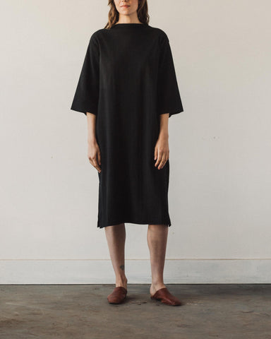 Kowtow Funnel Neck Dress, Black