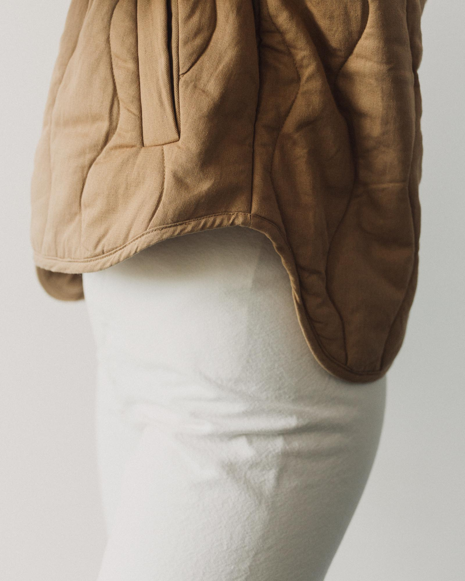 Micaela Greg Dune Quilted Jacket, Bronze