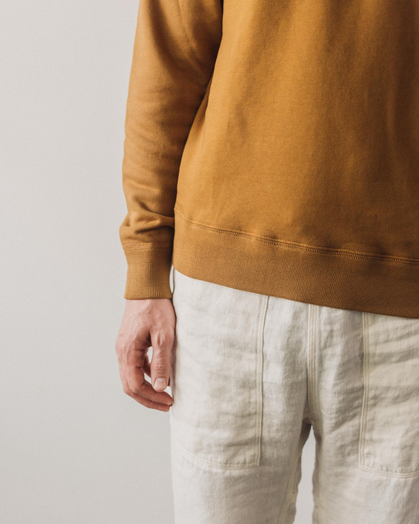 Lady White '44 Fleece Sweatshirt, Tobacco