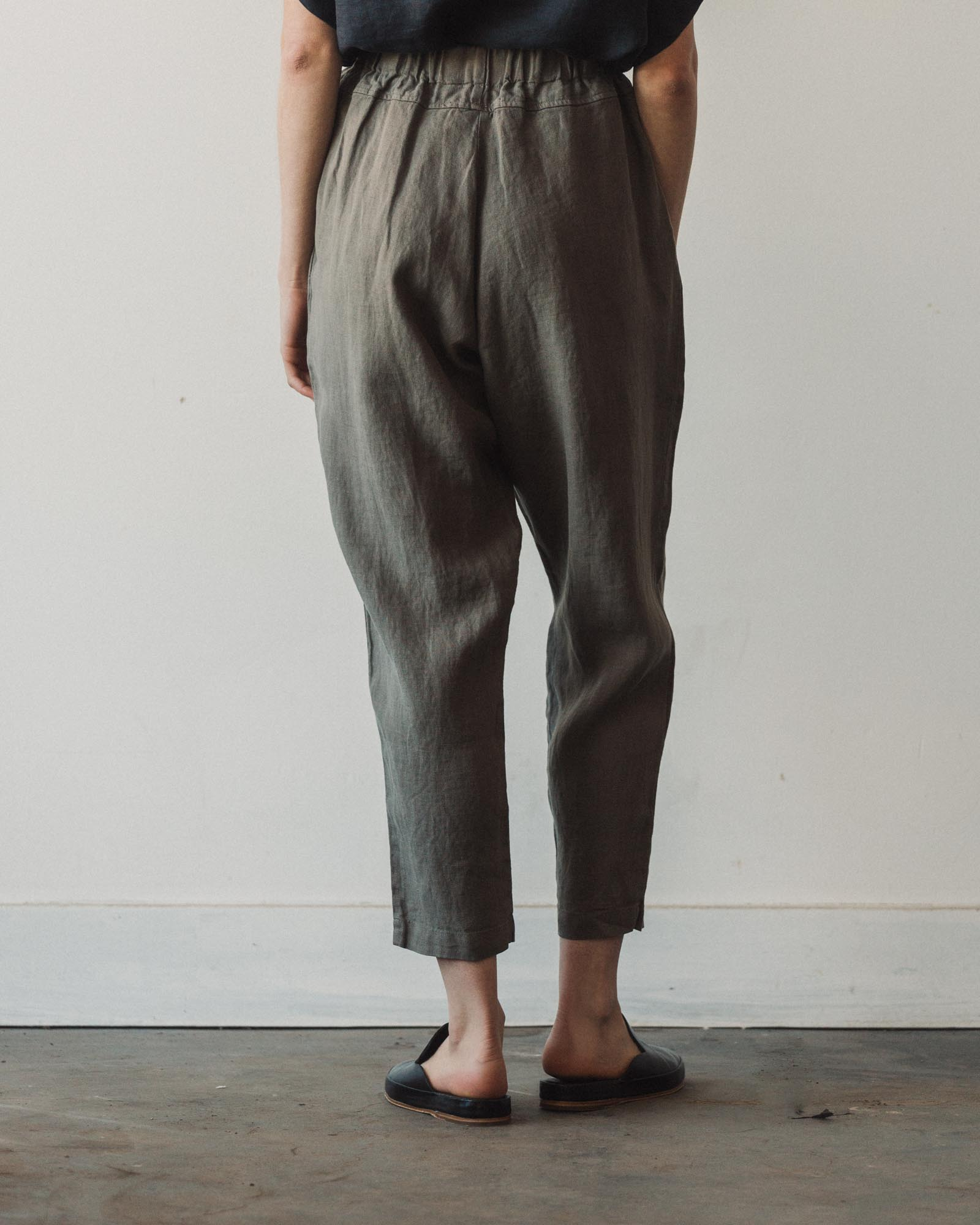 Black Crane Carpenter Pants, Grey