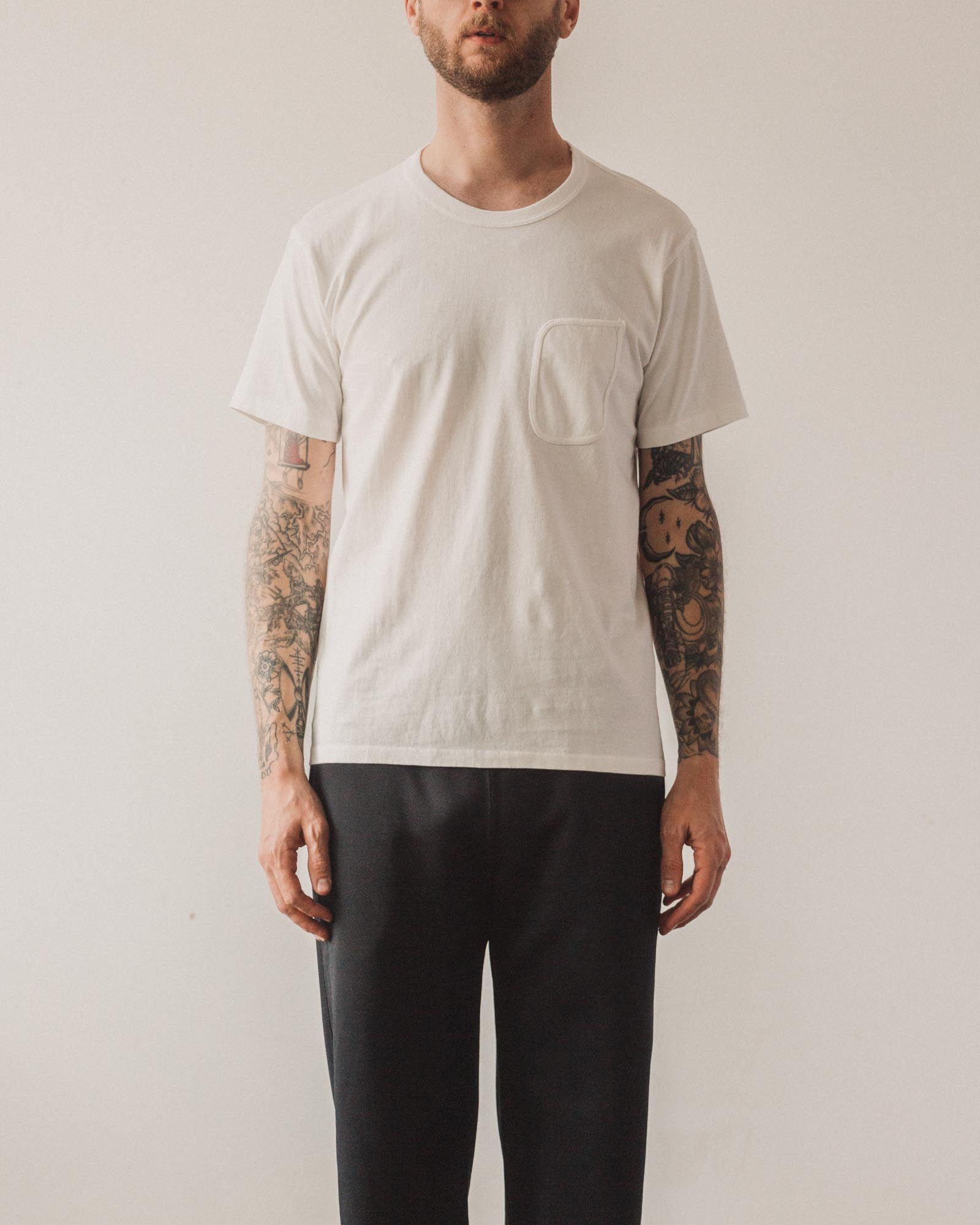 Lady White Clark Pocket Tee, White