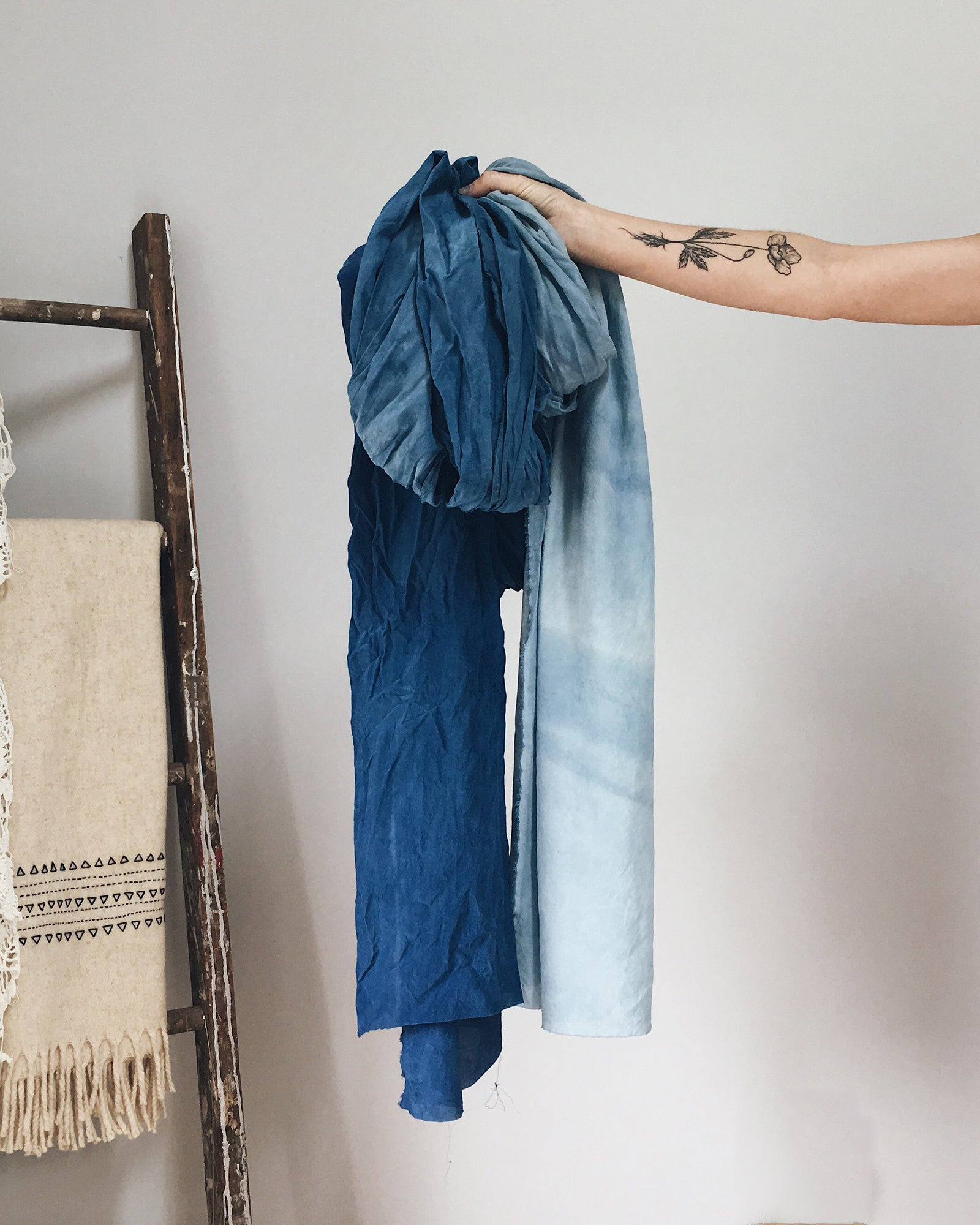 "Indigo ""BYO,"" Natural Dyeing Workshop with Maggie Pate"
