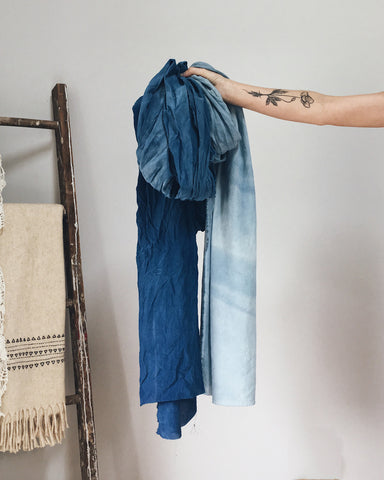 Natural Dyeing Workshop with Maggie Pate, Indigo BYO
