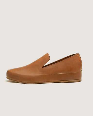 Feit Hand Sewn Slippers Tan, Women's