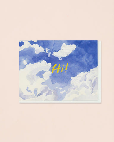 Small Adventure Greeting Cards, Sky