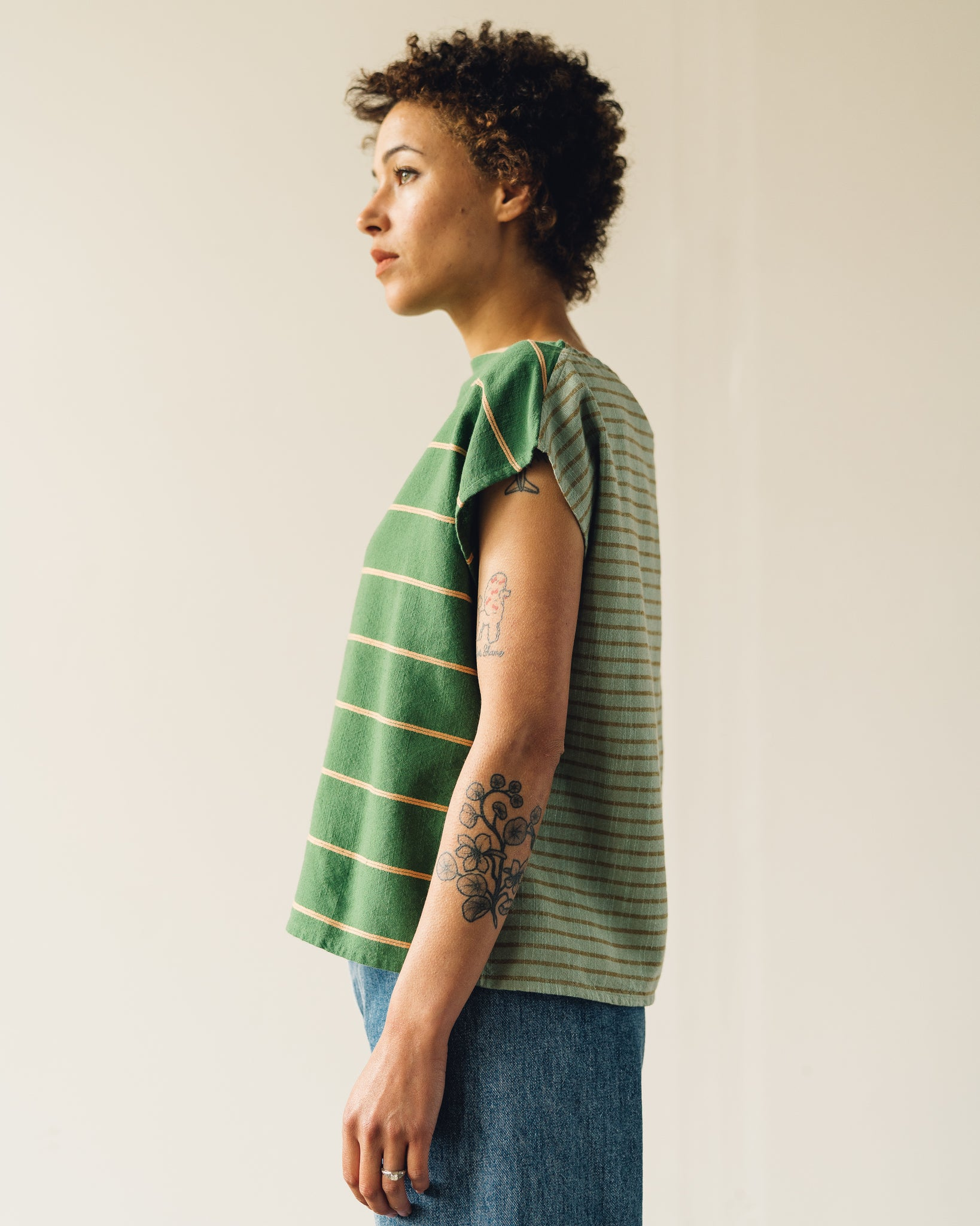 Ace & Jig Shell Top, Cactus