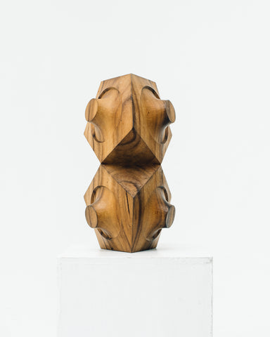 Aleph Geddis Wood Sculpture AG-1015