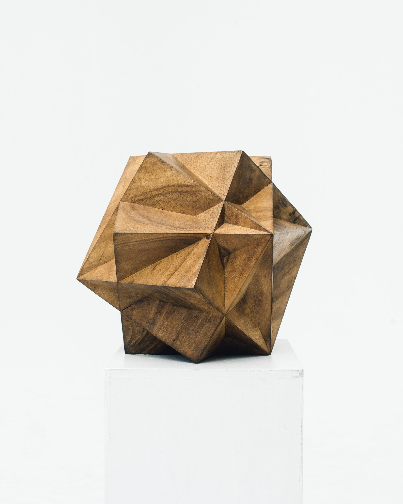 Aleph Geddis Wood Sculpture AG-1018