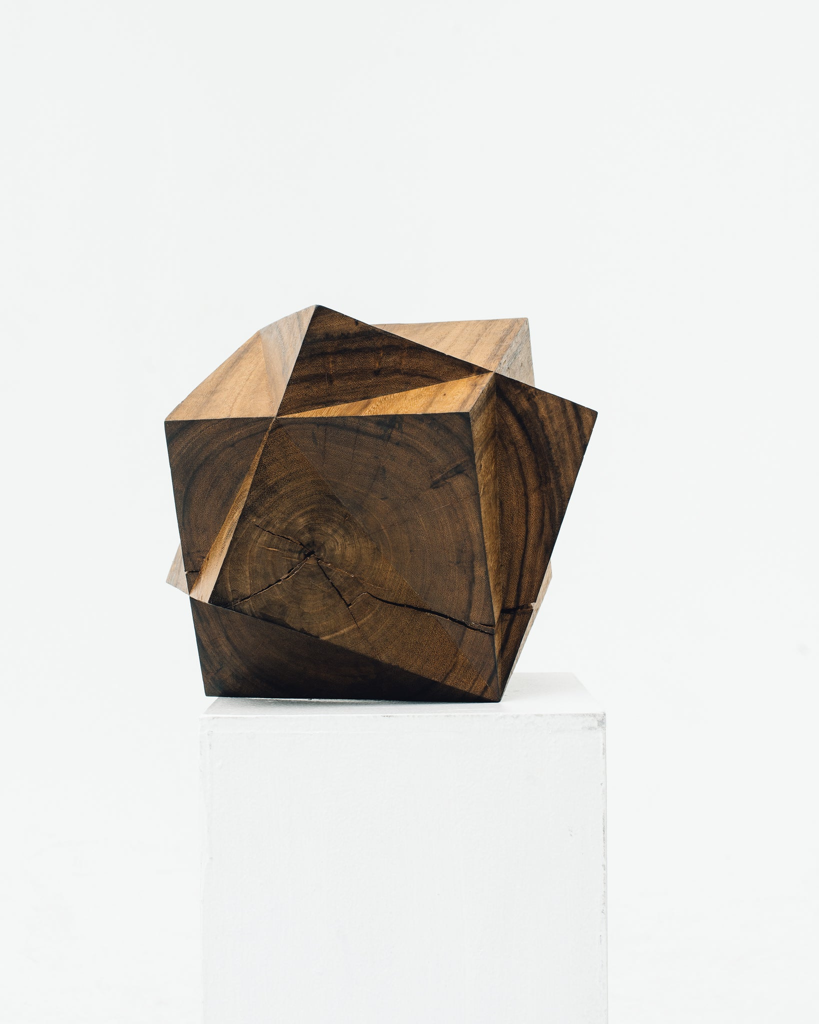Aleph Geddis Wood Sculpture AG-1019