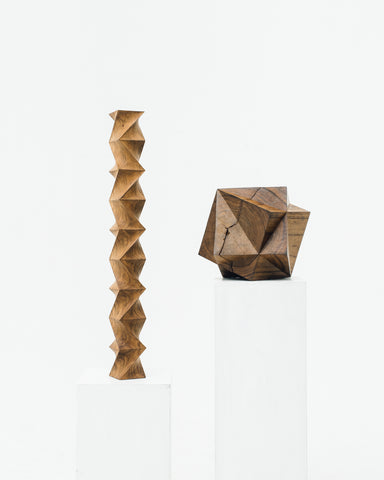 Aleph Geddis Wood Sculpture AG-1010