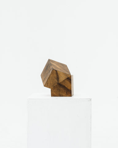 Aleph Geddis Wood Sculpture AG-1002, AG-1003