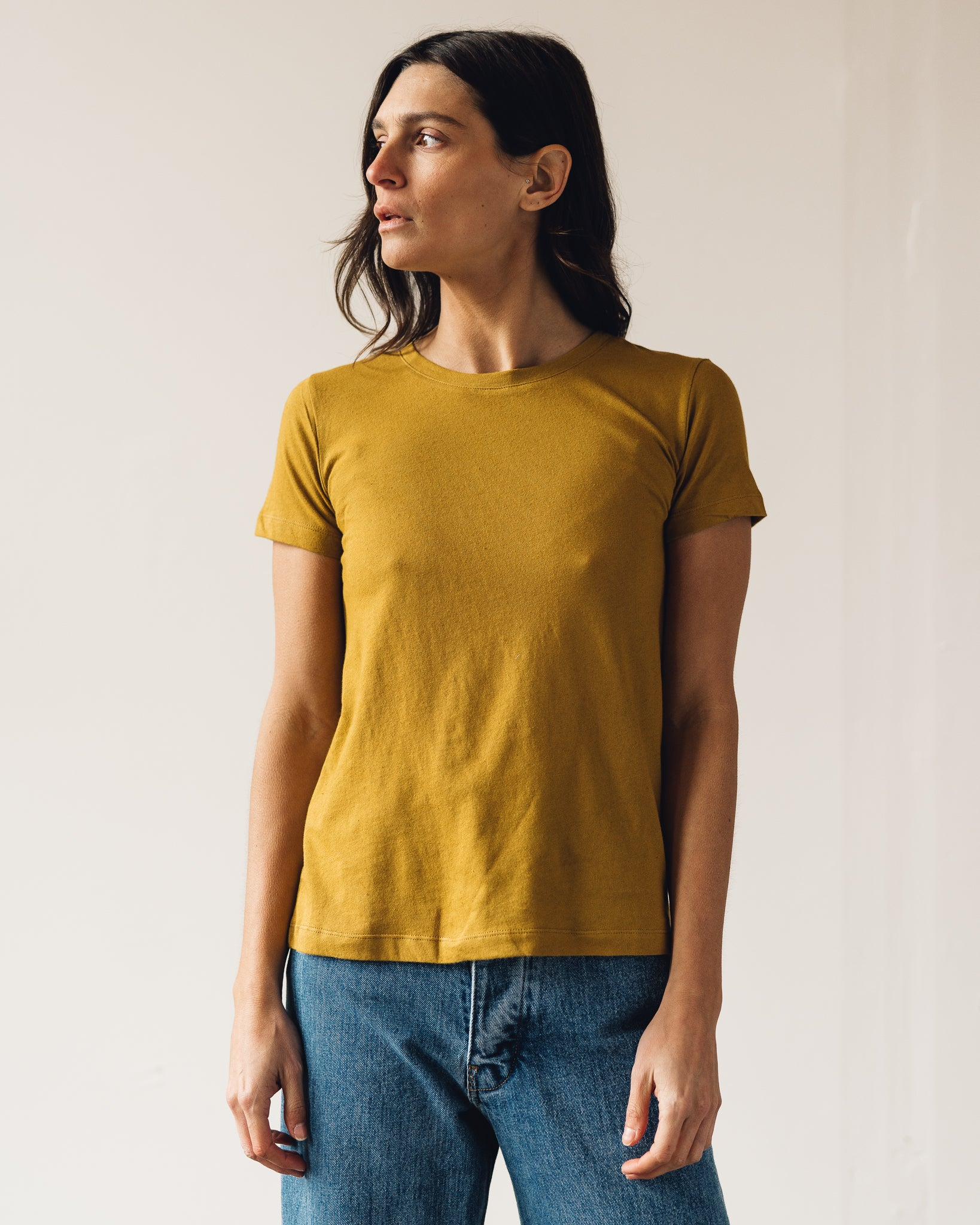 Ali Golden Classic T-Shirt, Sunflower