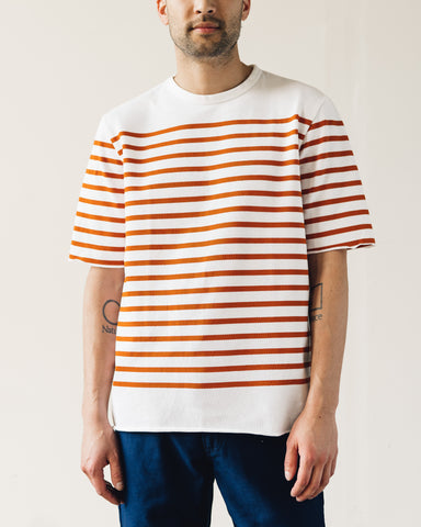 Arpenteur Pontus Tee, White/Orange