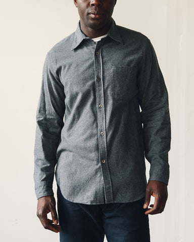 Arpenteur Ted Cotton Shirt, Grey